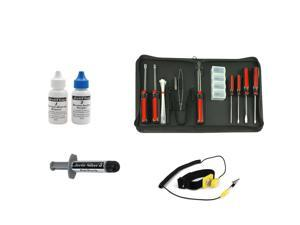 System Builder's Kit: Arctic Silver 5, Arctic Silver Thermal Remover and Purifier, Rosewill 15 Piece Tool Kit, Rosewill Anti-Static ...