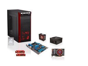 AMD FX-8350 4.0GHz Eight-Core CPU, ASUS 970 MOBO, PowerColor Radeon R7 260X 1GB, G.SKILL Ripjaws X 8GB MEM, Seagate 1TB HDD, ...