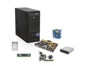 Pioneer Series EIA-3140K: Intel Pentium 3.0GHz Dual Core, H81 Motherboard, 8GB RAM, 24X DVD Burner, 1TB Hard Drive, GeForce ...