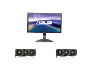 "Dream Series Upgrade Kit UKO-K140K: 2 X R9 290X 4GB, 31.5"" 4K Monitor"