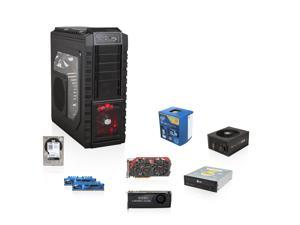 HAF X Vertex Series GIM-K140X: Intel Core i7 3.6GHz Quad-Core, Gaming 7 Z97, GeForce GTX 770 2GB, Ripjaws X 16GB MEM, WD ...