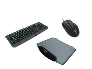 Razer Gaming Kit GKO-3140: Razer Blackwidow Ultimate 2014 Mechanical Keyboard, Razer Naga 2014 MMO Gaming Mouse, Razer Vespula ...