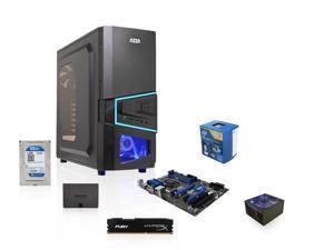Intel Core i7-4790 Haswell 3.6GHz Quad-Core CPU, MSI Z97 MOBO, HyperX Fury 8GB MEM, WD Blue 1TB HDD, SAMSUNG 840 EVO 120GB ...