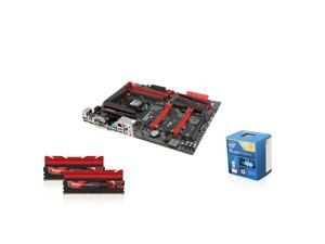 Upgrade Kit UKO-9140K: Intel Core i7-4770K Haswell 3.5GHz Quad-Core CPU, ASUS MAXIMUM VII HERO Z97 MB, Trident X 16GB MEM