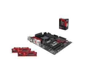 Upgrade Kit UAG6140: AMD A10-7850K 3.7GHz Quad-Core CPU, MSI A88X Motherboard, G.Skill Ripjaws X Series 16GB 1866MHz