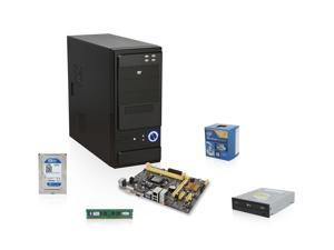 Intel Haswell 3.0GHz Dual-Core CPU with Intel HD Graphics,ASUS H81 MOBO, Kingston 4GB MEM, WD 1TB HDD, LG 24X DVD Burner, ...