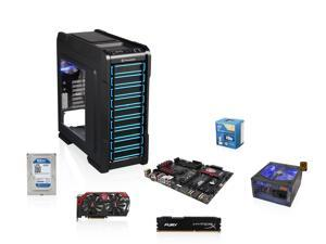 Intel Core i5-4670K 3.4GHz Haswell Quad-Core CPU, MSI Z97-Gaming 5 MOBO, MSI Gaming Geforce 750 Ti 2GB, HyperX Fury Black ...
