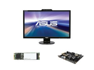 "Pro Upgrade PIA-6140: Asus Z97-A Motherboard, Asus 27"" Full HD Monitor, Intel 530 180GB M.2 SSD"