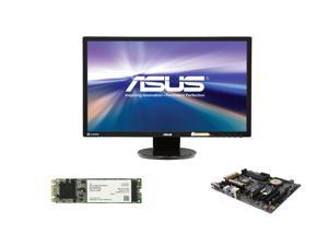 """Pro Upgrade PIA-6140: Asus Z97-A Motherboard, Asus 24"""" Full HD Monitor, Intel 530 80GB M.2 SSD"""