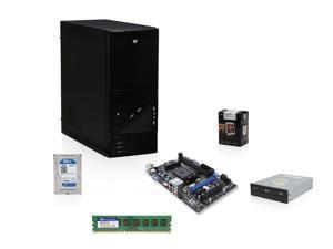 AMD A8-5600K Trinity 3.6GHz Quad-Core APU with Radeon HD 7560 D, MSI A55 FM2+ MOBO, WD 1TB HDD, Team Elite 4GB MEM, LG 24X DVD Burner, LOGISYS CS206Bk Case with 480W PSU