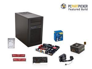PCPartPicker's Featured Build: Intel Core i5-4690K 3.5GHz Quad Core, Gigabyte GA-Z97MX Gaming 5, Corsair H80i Cooler, ADATA ...