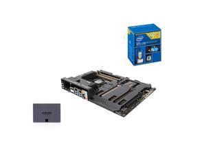 Upgrade Kit UKO-9140K: Intel Core i7-4790K Haswell 4.0GHz Quad-Core CPU, ASUS SABERTOOTH Z97 MB, SAMSUNG 840 EVO 250GB SSD