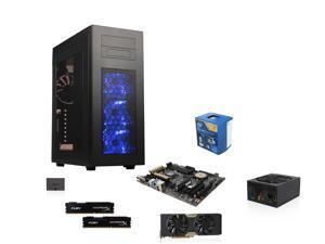 Rise Vertex Series GIA-K140X: Intel Core i7 4790 Haswell Quad-Core CPU, Z97 MOBO, Geforce GTX 770 2GB, HyperX  FURY 16GB ...