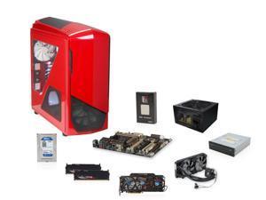 AMD FX-9590 4.7GHz Eight Core, ASUS Sabertooth 990FX R2.0, Gigabyte R9 290X 4GB, G.SKILL Sniper 16GB RAM, Samsung 24X DVD ...