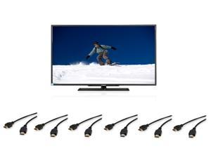 "TV SuperCombo Package: Changhong 50"" 1080p LED HDTV + 6 X Coboc 6-foot HDMI Cable"