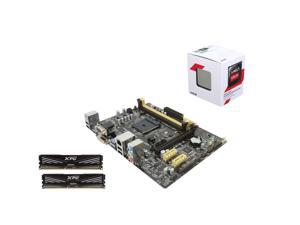 Core Components Upgrade: AMD Athlon 5350 Kabini 2.05GHz Quad-Core CPU, Asus AM1 mATX Motherboard, ADATA XPG V1.0 8GB 1600MHz ...