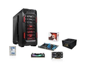 AMD FX-6350 Vishera 3.9GHz Six-Core CPU, ASUS 970 MOBO, SAPPHIRE R7 260X 2GB, Team Dark 8GB MEM, WD 1TB Blue HDD