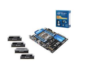 NEW!! Haswell-Extreme Bundle: Intel Core i7-5820K 3.3GHz Six Core, Corsair Dominator Platinum 16GB (4 x 4) RAM DDR4 2666, ...