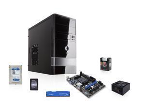 AMD 5800K Trinity 3.8GHz Quad-Core APU w/ Radeon HD 7660D, MSI FM2+ MOBO, WD Blue 1TB HDD, HyperX Fury 8GB MEM, ADATA Premier ...