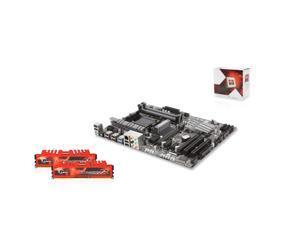 AMD FX-6350 3.9GHz Six Core, Gigabyte GA-970A-UD3P, G.SKILL Ripjaws X 8GB RAM 1866
