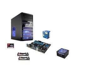 Intel Pentium G3258 Haswell Dual-Core 3.2GHz CPU, ASROCK Z97 M-ATX MOBO, Kingston 60GB SSD, Team Dark 2x4GB MEM, Rosewill 500W, Rosewill RANGER-M Case