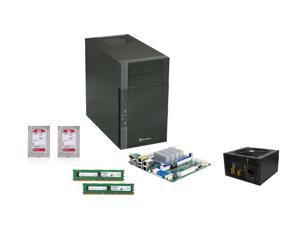 Enterprise Series PKOK151: Asrock C2750D4I Mini ITX Server Motherboard, Crucial 16GB DDR3 1600 Unbuffered, (2x) WD RED NAS ...