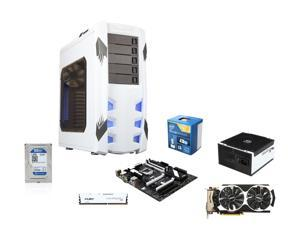 Intel Core i5-4690K Haswell 3.5GHz Quad-Core CPU, MSI Z97 Krait Edition, HyperX Fury White ...