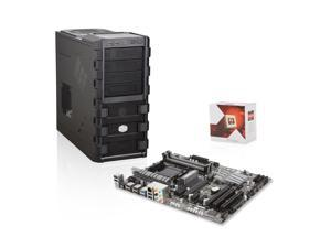 Upgrade Kit UK3-3153K: AMD FX-6300 3.5GHz 6-Core, Gigabyte GA-970A-UD3P AMD 970, Cooler Master HAF 912 Mid Tower Case