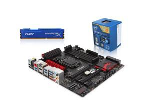 SuperCombo Upgrade Pack: Intel Core i5-4590 Haswell Quad-Core 3.3GHz CPU, MSI Z87M GAMING MOBO, HyperX Fury 8GB Memory