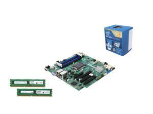 Enterprise Series UKO6152: Intel Server Motherboard S1200V3RPL, Intel Xeon E3-1276 v3 3.6GHz Server Processor, Crucial 16GB ...