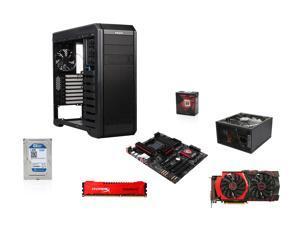 AMD FX-8350 4.0GHz 8-Core CPU, MSI 970 Gaming AM3+ MOBO, HyperX Savage 8GB MEM, ...
