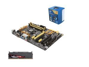 SuperCombo Upgrade Pack: Intel Core i5-4590 Haswell Quad-Core 3.3GHz CPU, ASUS Z87-A NFC Express Edition MOBO, G.SKILL Sniper Series 8GB MEM