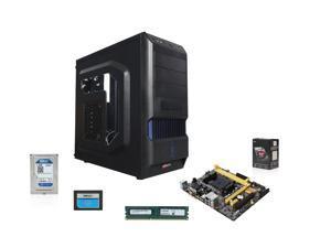 AMD A8-6600K Richland 3.9GHz Quad-Core APU w/ Radeon HD 8570D , ASUS A58M MOBO, Crucial 8GB MEM, PNY 120GB SSD, WD Blue 1TB HDD, LOGISYS CS370Bk Case w/ 480W PSU