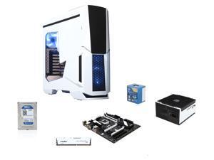 Intel Core i7 4770 3.4GHz Quad-Core CPU, MSI Z97 SLI Krait Edition MOBO, HyperX Fury White 8GB MEM, WD 1TB Blue HDD, RAIDMAX ...