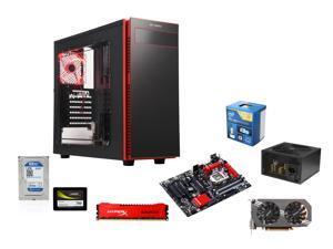 Frigate Class GIG-9150M: Intel Core i5-4690K 3.5GHz Quad-Core, Gigabyte GA-Z97X-SLI ATX Motherboard, HyperX 8GB DDR3 1600, ...