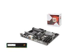 Upgrade Kit UKO-3150K: AMD FX-4350 Vishera Quad-Core 4.2GHz, Gigabyte GA-970A-UD3P ATX, Mushkin Enhanced Stealth 8GB DDR3 ...