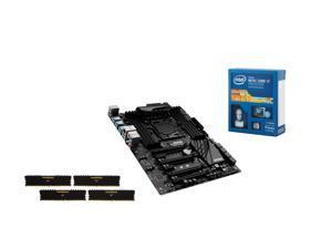 Intel Core i7-5820K Haswell-E 6-Core 3.3GHz CPU, MSI X99 SLI Plus MOBO, Corsair ...