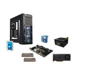 Intel Core i5-4690K Devil's Canyon Quad-Core 3.5GHz CPU, Gigabyte GA-Z97-HD3P MOBO, ...