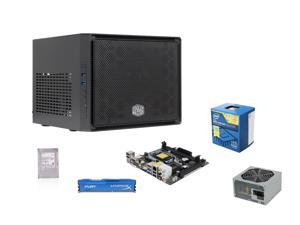 Intel Pentium G3258 Dual-Core 3.2GHz CPU, ASRock H81M-ITX MOBO, Toshiba 500GB HDD, HyperX Fury 4GB RAM, SeaSonic 300W BRONZE Power Supply, COOLER MASTER Elite 110 Case