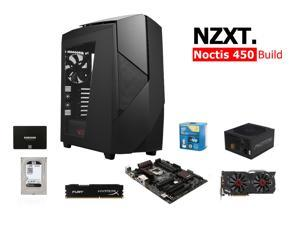 NZXT Noctis Build: Intel Core i7-4790K Devil's Canyon 4.0GHz Quad-Core CPU, ASUS Z97-Pro Gamer MOBO, Hyperx Fury 8GB MEM, ...
