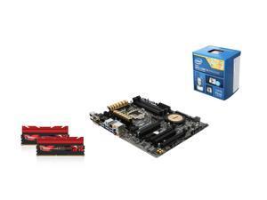 Intel Core i5-4690K Quad-Core CPU, Asus Z97-A/USB 3.1 MOBO, G.Skill TridentX Series 16GB DDR3 2400 MEM