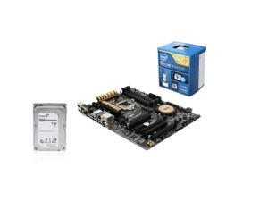 Upgrade Kit UKO-6157K: Intel Core i5-4690K Haswell 3.5GHz Quad-Core, Asus Z97-A USB 3.1 ATX Motherboard, Seagate Barracuda ...