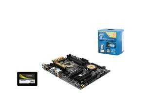 Upgrade Kit: Intel Core i7-4790K 4.0GHz Quad Core, Asus Z97-A/USB 3.1 ATX Motherboard, Mushkin ECO2 240GB SSD
