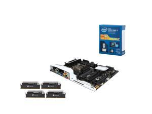 Upgrade Kit UIA-K143: Intel Core i7-5820K Haswell-E 6-Core 3.3GHz 2011-v3, Asus X99-Deluxe USB 3.1 MB, Corsair Dominator ...