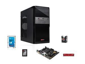 AMD A10-5800K Trinity 3.8GHz Quad-Core APU w/ Radeon HD 7660D, ASUS A68 MOBO, ADATA XPG 8GB MEM,  ADATA Premier 120GB SSD, Seagate Barracuda 1TB HDD, LOGISYS CS136BK Case w/ 480W PSU