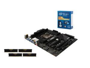 Intel Core i7-5820K Haswell-E 6-Core 3.3GHz CPU, MSI X99 SLI Plus USB 3.1 MOBO, Corsair Vengeance LPX 16GB DDR4 2400 MEM