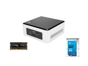 Intel NUC NUC5CPYH w/ Intel HD Graphics w/ WiFi & Bluetooth 4.0, USB 3.0, HyperX Impact 4GB DDR3L 1600, Seagate Hybrid Drives ...