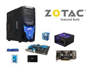 ZOTAC Cobra Build: Intel Core i5-4690K 3.5GHz Quad-Core CPU, ASRock Z97 Extreme4 ...