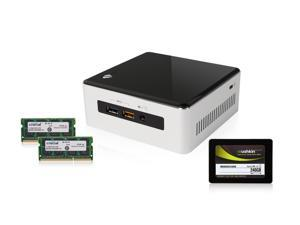 Intel NUC NUC5i5RYH Intel HD Graphics 6000 w/ Mini HDMI and Mini DisplayPort BAREBONES, Crucial 16GB DDR3L 1600 MEMORY, Mushkin ...