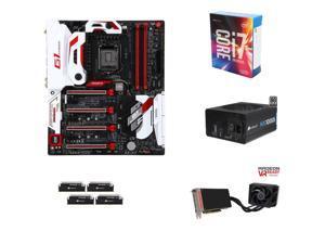 Intel i7-6700K 4.0Ghz Quad-Core, Z170, 32GB DDR4 2666, Radeon R0 FURY X 4GB, 1000W PSU